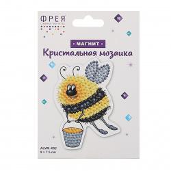 Мозаика алмазная Магниты 6,5*8,5см Фрея Автобус ALVM-034