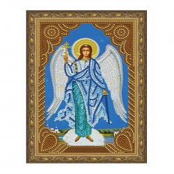 Мозаика алмазная 20*30см Molly Ангел Хранитель частичная выкладка холст на подрамнике KM0710