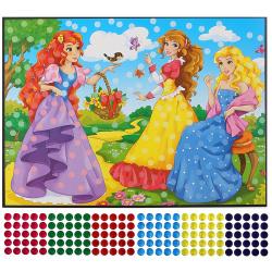 Мозаика гелевая 21*30см Arte Nuevo Блестящий витраж Птица DT-1040-4V