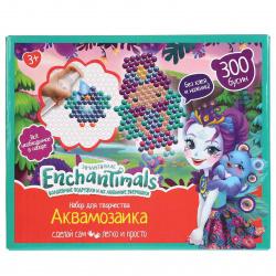 Аквамозаика 300 деталей 10*10см MULTI ART Enchantimals AQUABEADS300-EN3/315224