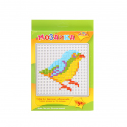 Мозаика-тетрис пластиковая 13*13 Апплика Синица С2429-11