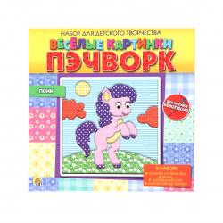 Пэчворк без иголки Рыжий кот Веселые картинки Пони НД-7313