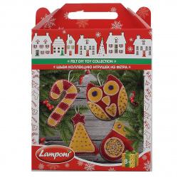 Набор для шитья из фетра Lamponi Шьем игрушку LMRA-UA1-NYFDTC-BOX4