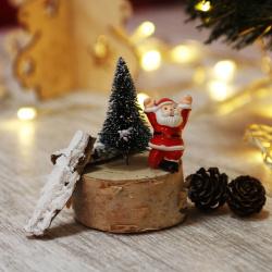 Набор для творчества КОКОС Дед Мороз (фигурка деда Мороза, спил, елочка, шишки, палочки) 183213