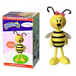Набор для творчества Волшебная мастерская Создай куклу Пчелка к009