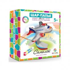 Набор для росписи папье-маше Самолет картон B00993
