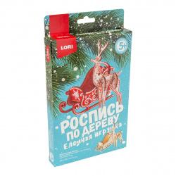 Набор для росписи Елочная игрушка Зиминие узоры Фнн-022