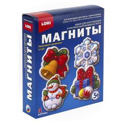 Набор для отливки Магниты Lori Новогоднее настроение М-069