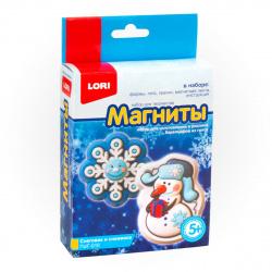Набор для отливки Снеговик и снежинка универсальный Lori Пз/Г-010