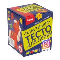 Тесто для лепки 3 цвета по 70гр Lori Д/Тдл-03