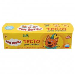 Тесто для лепки 3 цвета по 20гр MULTI ART Маша и Медведь Кондитер 203PDCB-MM/216748