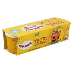 Тесто для лепки 3 цвета по 60гр MULTI ART Три Кота 100PD3-TC/303760