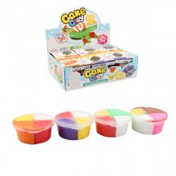 Тесто для лепки 4 цвета по 15гр КОКОС Food 205663/1 ассорти