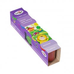 Тесто для лепки 4 цвета по 180гр Гамма Малыш застывающее на воздухе 6 деталей 509195