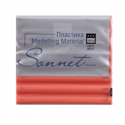 Пластика 1цв 56гр Sonnet 5965002 коралловый