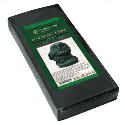 Пластилин скульптурный 500гр, 1 цвет, мягкий, цвет серый Гамма увлечений 8042520