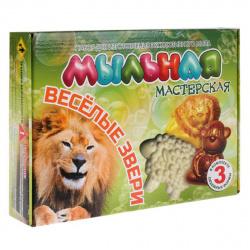 Набор для мыловарения Веселые звери Мыльная мастерская 226935