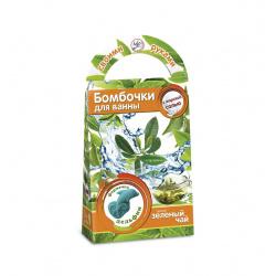 Набор для изготовления Бомбочки для ванн своими руками Зеленый чай Аромафабрика С0705
