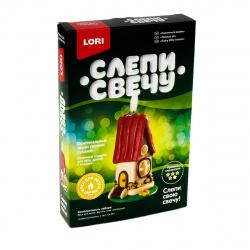 Набор для изготовления свечей Lori Сказочный домик Св-001