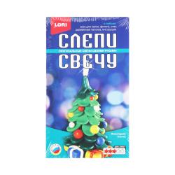 Набор для изготовления свечей Lori Новогодняя елочка Св-019