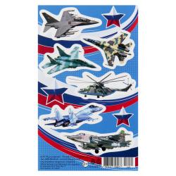 Наклейки 6шт, бумага Мир открыток 0-11-23060А
