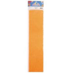 Бумага крепированная 50*200 Апплика С0307-03 оранжевый неон