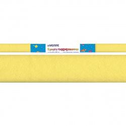 Бумага крепированная 50*250 32г/м Attomex 8040702 лимонная