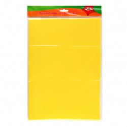 Фоамиран фоамиран, 50*70см, 0,7мм, желтый Апплика С2926-04