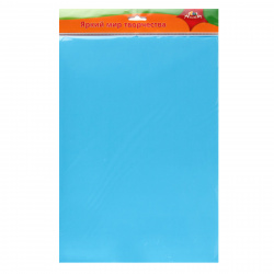 Фоамиран фоамиран, 50*70см, 0,7мм, голубой Апплика С2926-01