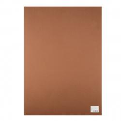 Фоамиран 50*70см 1мм 1л КОКОС 183713/Y126 коричневый
