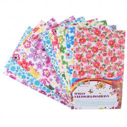 Фоамиран фоамиран, 20*30см, 2,0мм, 10л, ассорти 10 цветов Mazari M-4277