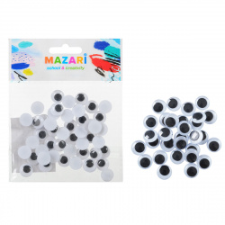 Глазки декоративные d-12мм 50 шт Mazari M-4322