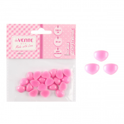 Носики декоративные 10мм*10мм HobbyTime 2-529/01 розовый