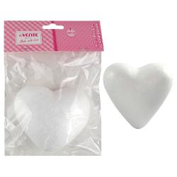 Пенопластовая заготовка Сердце h=100мм, европодвес, блистер deVENTE 8003914
