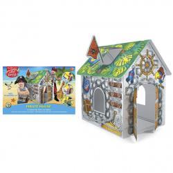 Игровой набор для раскрашивания 93*62*84см Artberry Erich Krause Pirate house 39231