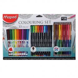 Набор для рисования 33 предмета Maped Colorpeps 897417