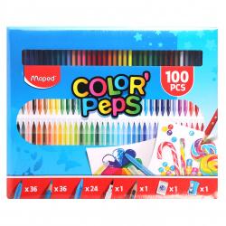 Набор для рисования 100 предметов Colorpeps Kit Maped 907003
