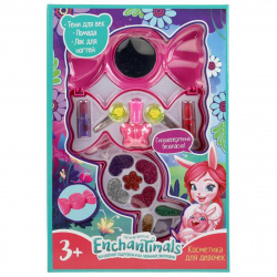 Косметика детская Милая Леди Энчантималс (тени блеск лак) 10885H2-ENS