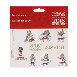 Наклейки-тату 17*16 2018 FIFA World Cup Russia 5181443
