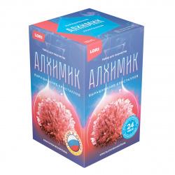 Набор для выращивания кристаллов Lori Кристалл Ежик Красный от 10 лет Вкр-012