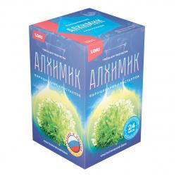 Набор для выращивания кристаллов Lori Кристалл Ежик Зеленый от 10 лет Вкр-015