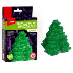 Набор для выращивания кристаллов Lori Деревья Зеленая елочка от 10 лет Крд-002