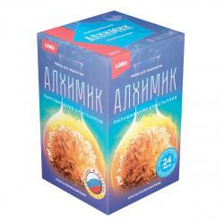 Набор для выращивания кристаллов Lori Кристалл Ежик Оранжевый от 7 лет Вкр-016