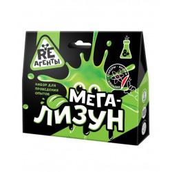 Набор для химических опытов Мега-Лизун Re-Агенты 8+ зеленый EX005T
