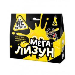Набор для химических опытов Мега-Лизун Re-Агенты 8+ желтый EX006T