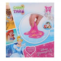Набор для изготовления слайма 1TOY Слайм Тайм Disney Принцессы блестки от 5 лет Т14291