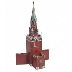 Конструктор картонный 3D Умная бумага Архитектурные памятники Спасская башня 219