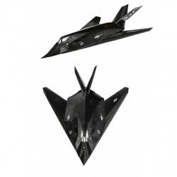 Конструктор картонный 3D Умная бумага  Авиация. Масштаб 1/72. Малозаметный ударный самолет F-117/183