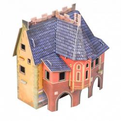 Конструктор картонный 3D Умная бумага Ратуша 216