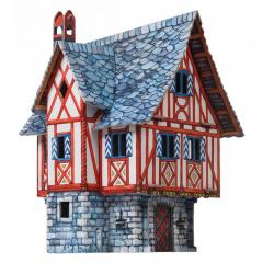 Конструктор картонный 3D Умная бумага Дом купца 379